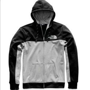 NWT North Face Surgent Bloc FZ hoodie L